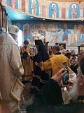 Bishop Gerasim receiving his Episcopal staff